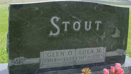 STOUT, GLEN  & LOLA - Sac County, Iowa | GLEN  & LOLA STOUT