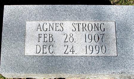 STRONG, AGNES - Sac County, Iowa | AGNES STRONG