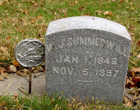 SUMMERWILL, W. J. - Sac County, Iowa | W. J. SUMMERWILL