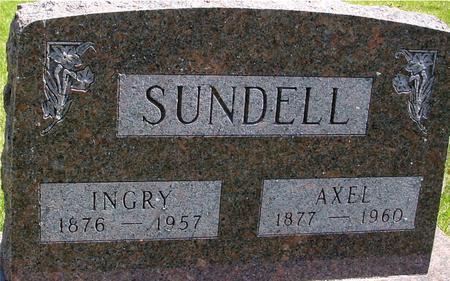 SUNDELL, AXEL & INGRY - Sac County, Iowa   AXEL & INGRY SUNDELL