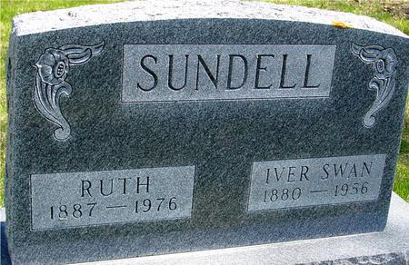 SUNDELL, IVER SWAN & RUTH - Sac County, Iowa | IVER SWAN & RUTH SUNDELL