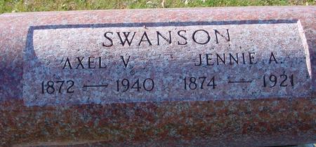 SWANSON, AXEL & JENNIE - Sac County, Iowa | AXEL & JENNIE SWANSON