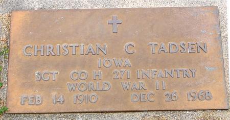 TADSEN, CHRISTIAN C. - Sac County, Iowa | CHRISTIAN C. TADSEN