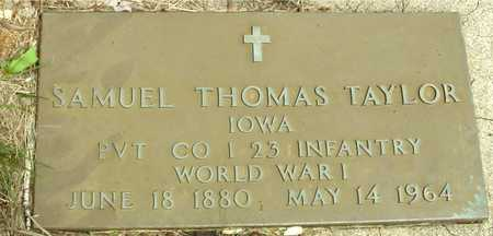 TAYLOR, SAMUEL THOMAS - Sac County, Iowa | SAMUEL THOMAS TAYLOR