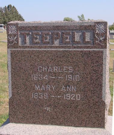 TEEPELL, CHARLES & MARY ANN - Sac County, Iowa | CHARLES & MARY ANN TEEPELL