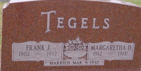 TEGELS, FRANK & MARGARETHA - Sac County, Iowa | FRANK & MARGARETHA TEGELS