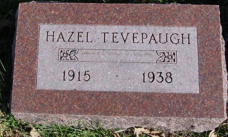 TEVEPAUGH, HAZEL - Sac County, Iowa | HAZEL TEVEPAUGH