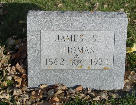 THOMAS, JAMES S. - Sac County, Iowa | JAMES S. THOMAS