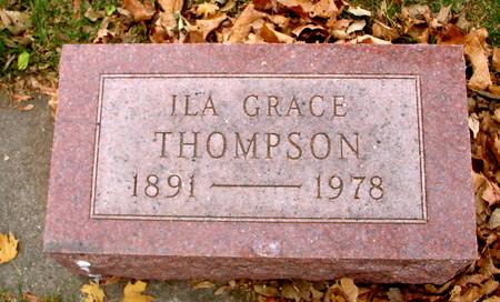 THOMPSON, ILA GRACE - Sac County, Iowa | ILA GRACE THOMPSON