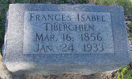 TIBERGHIEN, FRANCES ISABEL - Sac County, Iowa | FRANCES ISABEL TIBERGHIEN