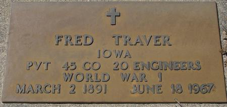 TRAVER, FRED - Sac County, Iowa | FRED TRAVER