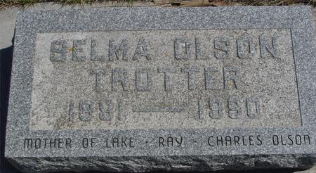 TROTTER, SELMA - Sac County, Iowa | SELMA TROTTER