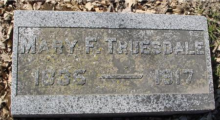 TRUESDALE, MARY F. - Sac County, Iowa | MARY F. TRUESDALE