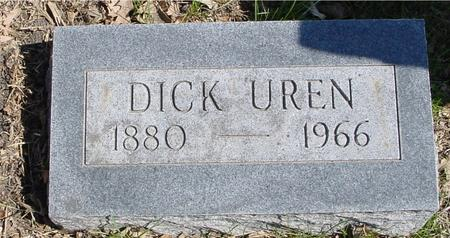 UREN, DICK - Sac County, Iowa | DICK UREN