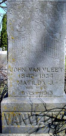 VAN VLEET, JOHN - Sac County, Iowa | JOHN VAN VLEET