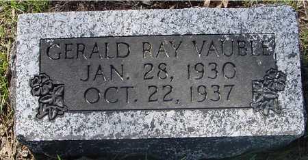 VAUBLE, GERALD RAY - Sac County, Iowa   GERALD RAY VAUBLE