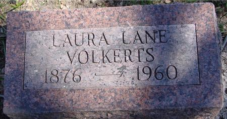 VOLKERTS, LAURA LANE - Sac County, Iowa | LAURA LANE VOLKERTS