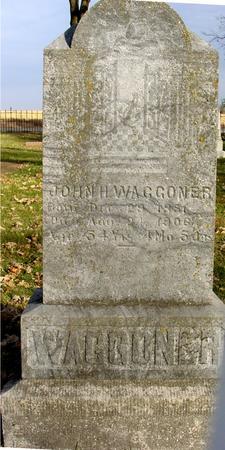 WAGGONER, JOHN H. - Sac County, Iowa | JOHN H. WAGGONER