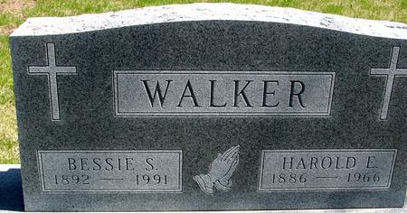 WALKER, HAROLD & BESSIE - Sac County, Iowa | HAROLD & BESSIE WALKER