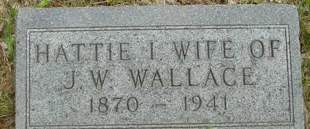 WALLACE, HATTIE - Sac County, Iowa | HATTIE WALLACE