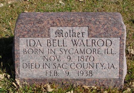 WALROD, IDA BELL - Sac County, Iowa | IDA BELL WALROD