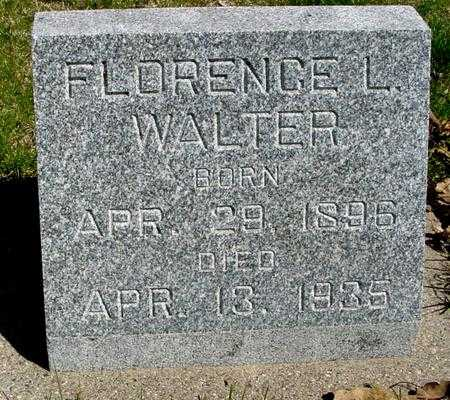 WALTER, FLORENCE L. - Sac County, Iowa | FLORENCE L. WALTER