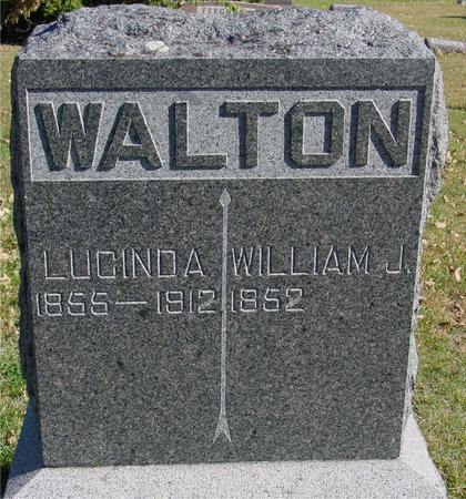 WALTON, WILLIAM & LUCINDA - Sac County, Iowa | WILLIAM & LUCINDA WALTON