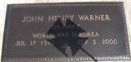 WARNER, JOHN HENRY - Sac County, Iowa | JOHN HENRY WARNER