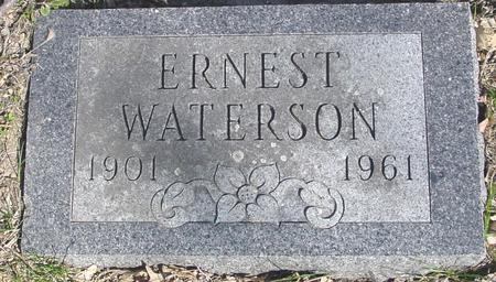 WATERSON, ERNEST - Sac County, Iowa | ERNEST WATERSON