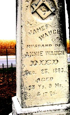 WAUGH, JAMES - Sac County, Iowa | JAMES WAUGH