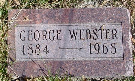 WEBSTER, GEORGE - Sac County, Iowa | GEORGE WEBSTER