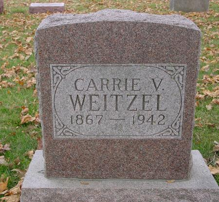 WEITZEL, CARRIE V. - Sac County, Iowa | CARRIE V. WEITZEL