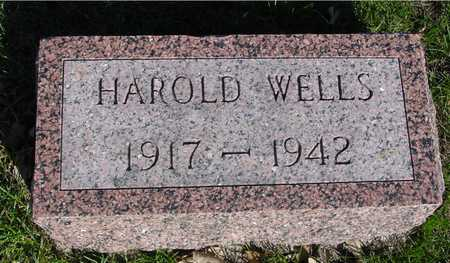 WELLS, HAROLD - Sac County, Iowa | HAROLD WELLS