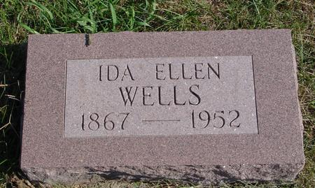 WELLS, IDA ELLEN - Sac County, Iowa | IDA ELLEN WELLS