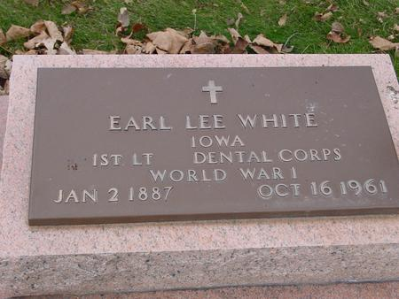 WHITE, EARL LEE - Sac County, Iowa | EARL LEE WHITE