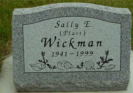 PLATT WICKMAN, SALLY E. - Sac County, Iowa | SALLY E. PLATT WICKMAN