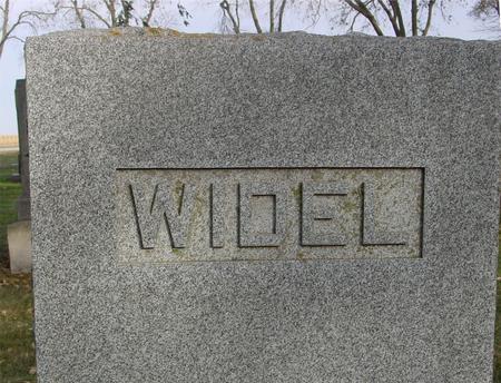 WIDEL, GRAVESTONE, ADAM - Sac County, Iowa | GRAVESTONE, ADAM WIDEL