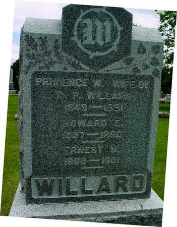 WILLARD, PRUDENCE - Sac County, Iowa | PRUDENCE WILLARD
