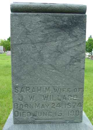WILLARD, SARAH M. - Sac County, Iowa | SARAH M. WILLARD