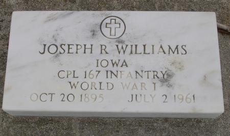 WILLIAMS, JOSEPH R. - Sac County, Iowa | JOSEPH R. WILLIAMS