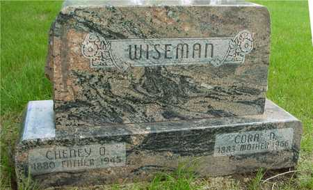 WISEMAN, CHENEY & CORA D. - Sac County, Iowa | CHENEY & CORA D. WISEMAN