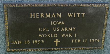 WITT, HERMAN - Sac County, Iowa | HERMAN WITT