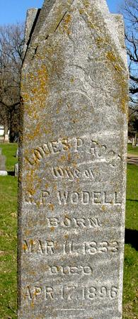 WODELL, LOUES P. - Sac County, Iowa | LOUES P. WODELL