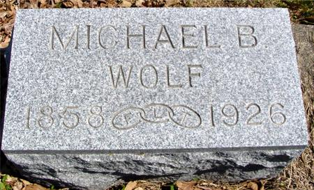 WOLF, MICHAEL B. - Sac County, Iowa | MICHAEL B. WOLF