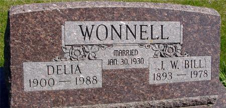 WONNELL, J. W. (BILL) & DELIA - Sac County, Iowa | J. W. (BILL) & DELIA WONNELL