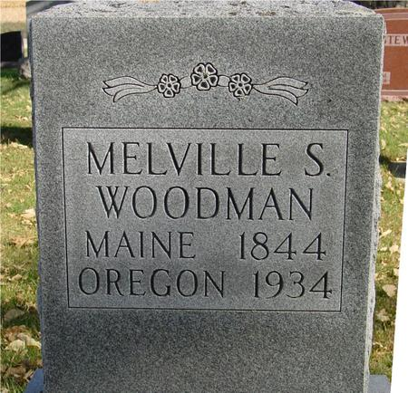 WOODMAN, MELVILLE S. - Sac County, Iowa | MELVILLE S. WOODMAN