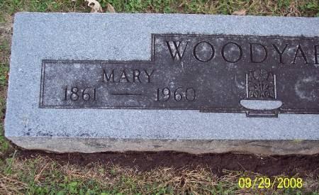 WOODYARD, MARY - Sac County, Iowa | MARY WOODYARD