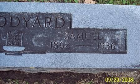 WOODYARD, SAMUEL - Sac County, Iowa   SAMUEL WOODYARD