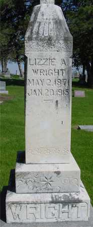 WRIGHT, LIZZIE A. - Sac County, Iowa | LIZZIE A. WRIGHT