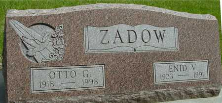 ZADOW, OTTO & ENID - Sac County, Iowa | OTTO & ENID ZADOW